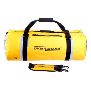 Overboard Waterproof Duffel Bag 60 Liters Yellow